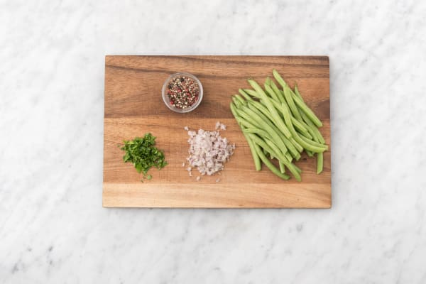 Prep and Roast Green Beans