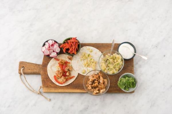 Set Up Taco Bar