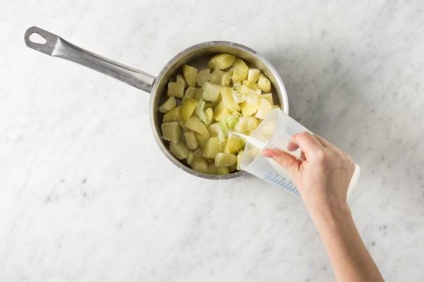 Kartoffelstampf vorbereiten