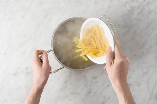 Penne kochen