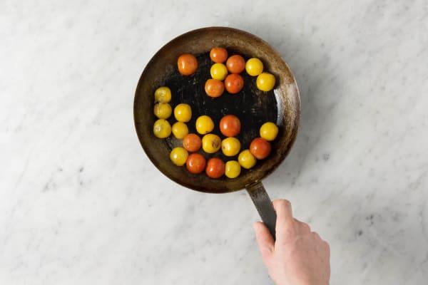 Tomaten braten