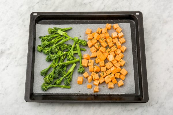 Roast Baby Broccoli