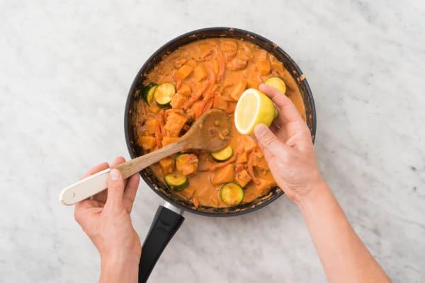 curry VERFEINERN