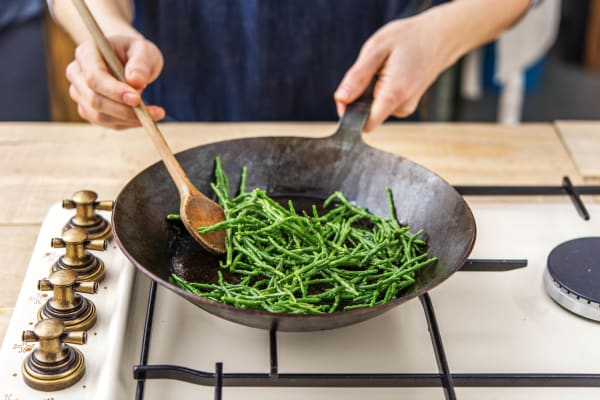 Cook the Samphire