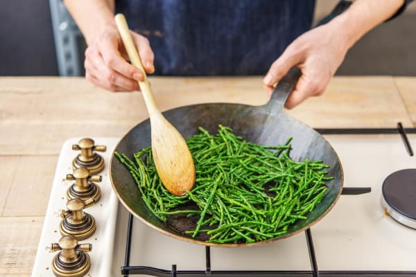 Cook the Samphire