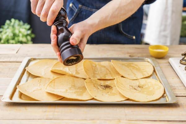 Prep the Tortillas