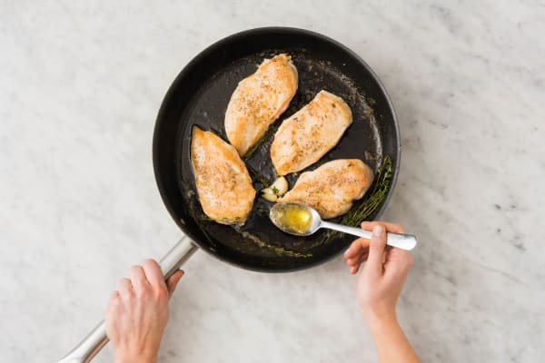 Baste Chicken