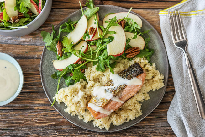 Spiced Dijon Salmon