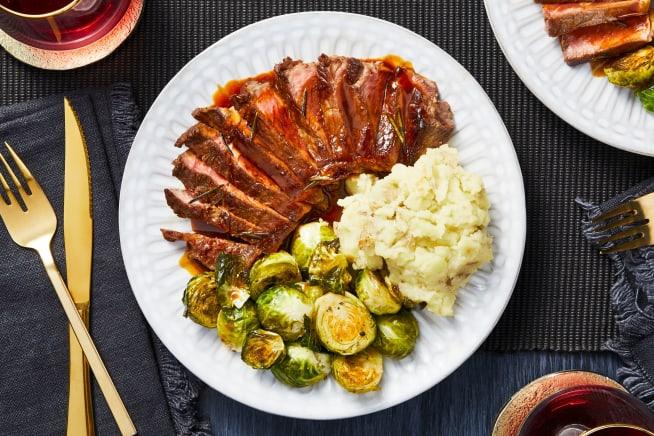 Rosemary Mustard Sirloin Steaks