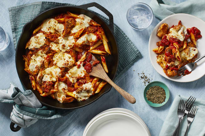 Family Friendly - Melty Mozzarella Chicken Pomodoro Bake