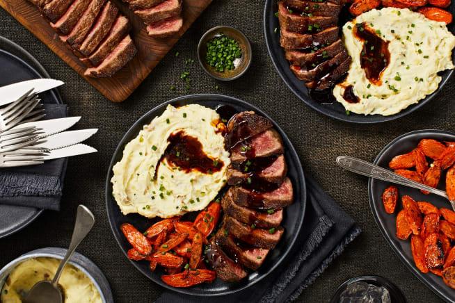 Family Friendly - Seared Sirloin Steak