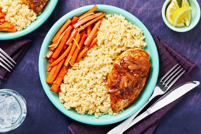 Family Friendly - Apricot-Glazed Chicken