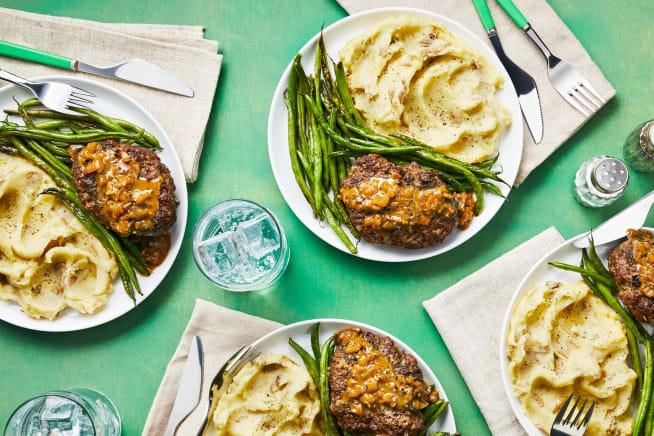 Family Friendly - Meatloaf Au Poivre