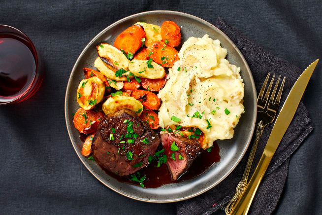 Family Friendly - Beef Tenderloin with Brown Butter Roasted Veggies