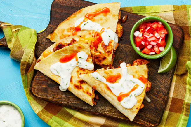 Quick meals - Baja Chicken Quesadilla