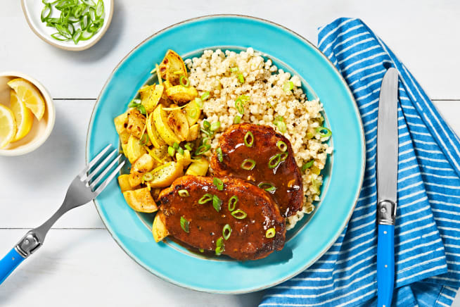 Quick meals - Spice-Rubbed Pork with a Jammy Glaze