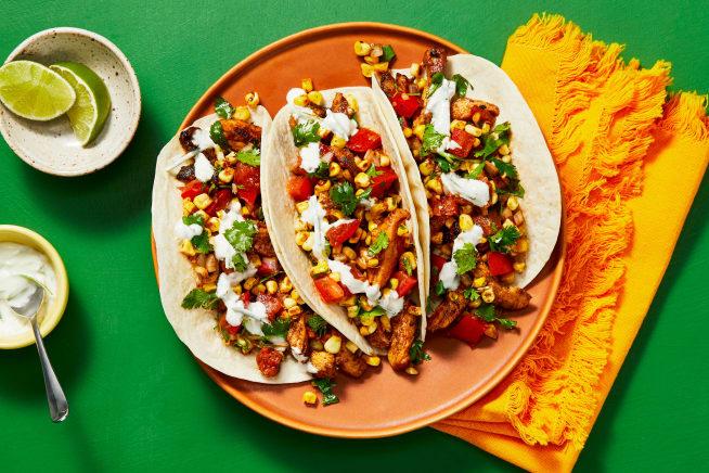 Quick meals - Chicken Ranchero Tacos