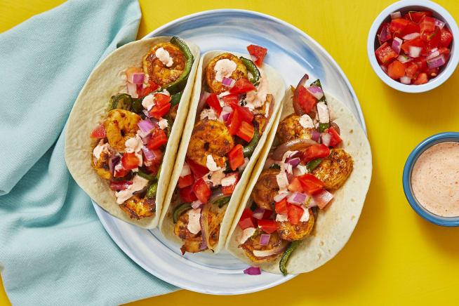 Quick meals - Southwestern Shrimp Tacos