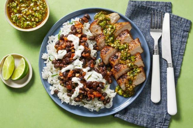 Quick meals - Chimichurri Pork Chops