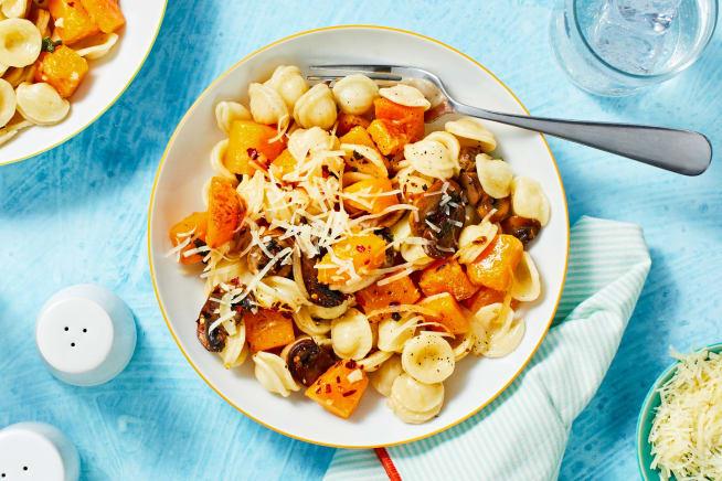 Quick meals - Butternut Squash and Sage Orechiette