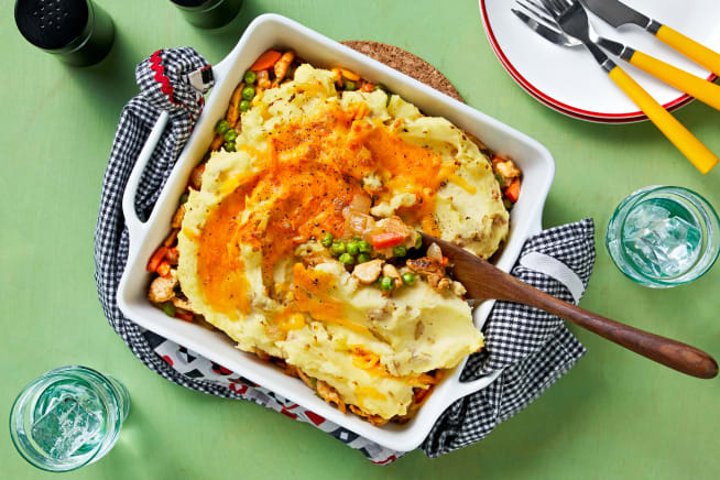 Cheesy Chicken Shepherd's Pie