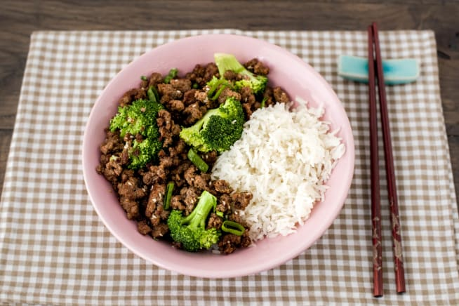 Family Korean Beef Bulgogi with Broccoli