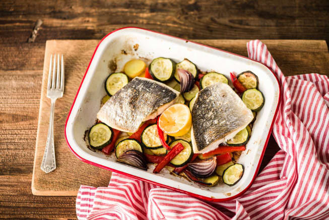 Low Carb Recipes - Oven Roasted John Dory