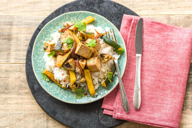 Low Carb Recipes - Terrific Thai Tofu