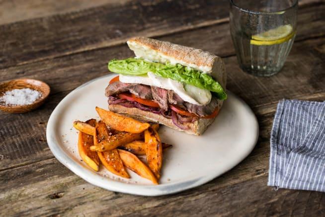 Unser liebstes Steak–Sandwich
