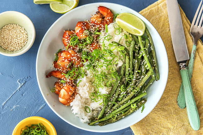 Sizzling Hoisin Shrimp
