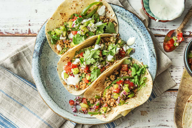 Latin recipes hellofresh seitan tacos el diablo forumfinder Choice Image