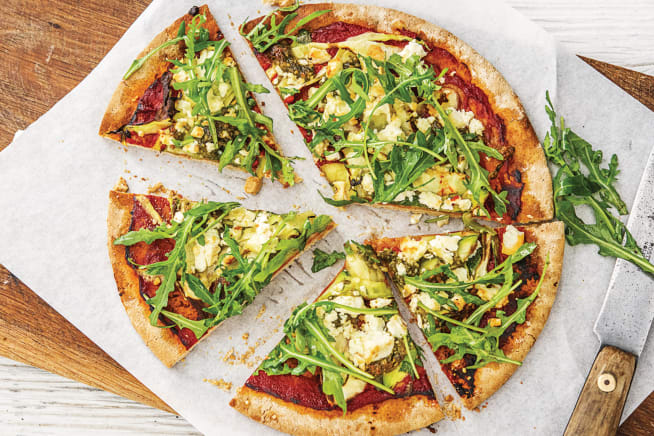 Quick Meals - Speedy Basil Pesto Pizza