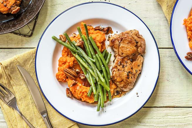 Quick meals - Maple-Glazed Pork Chops