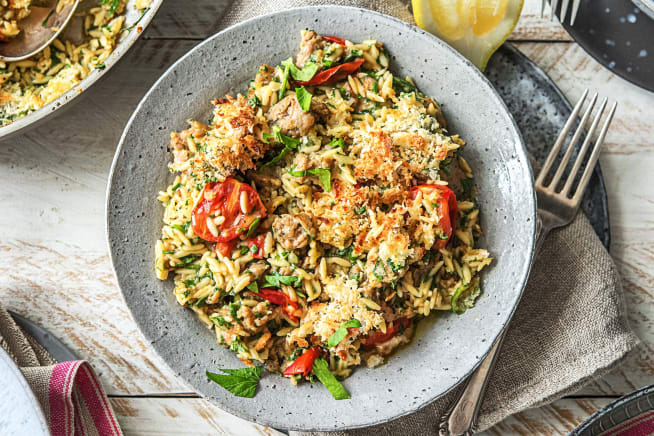Quick meals - One-Pan Orzo Italiano