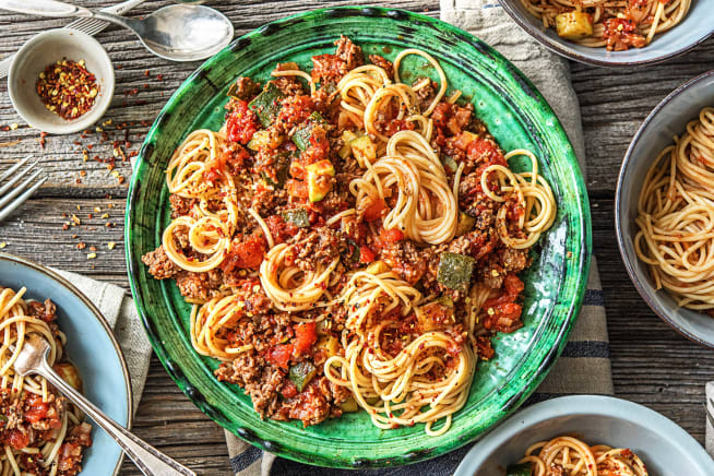 Hall Of Fame - Quick Beef Ragù Spaghetti