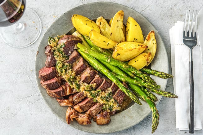 Rib-Eye Steak Béarnaise