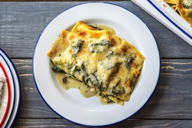 Vegetarische recepten - Groentelasagne met zelfgemaakte roomsaus