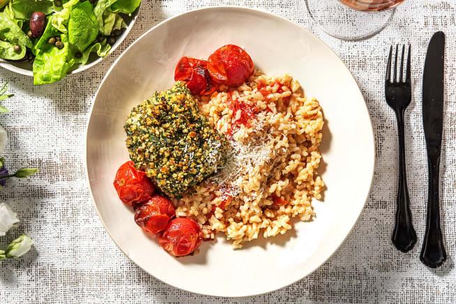 Recettes sans gluten - Perche du Nil en croûte de noix