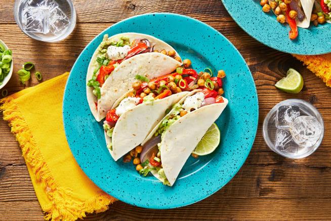 Crispy Chickpea Tacos