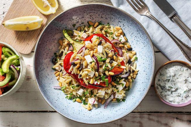 Schnelle Gerichte - Gefüllte Paprika nach griechischer Art