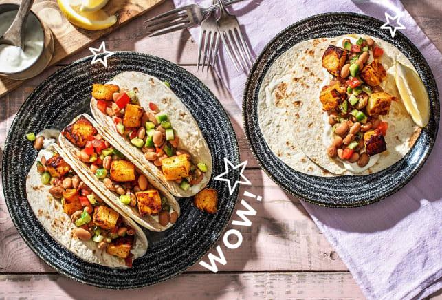 Thermomix Rezepte - Einfache Halloumi-Tacos