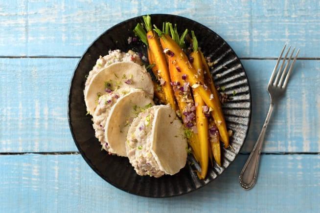 Mini-pitabroodjes met tonijnsalade