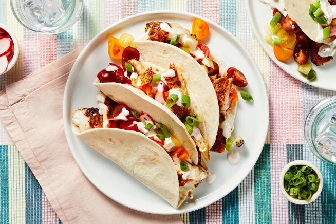 Chipotle-Spiced Tilapia Tacos