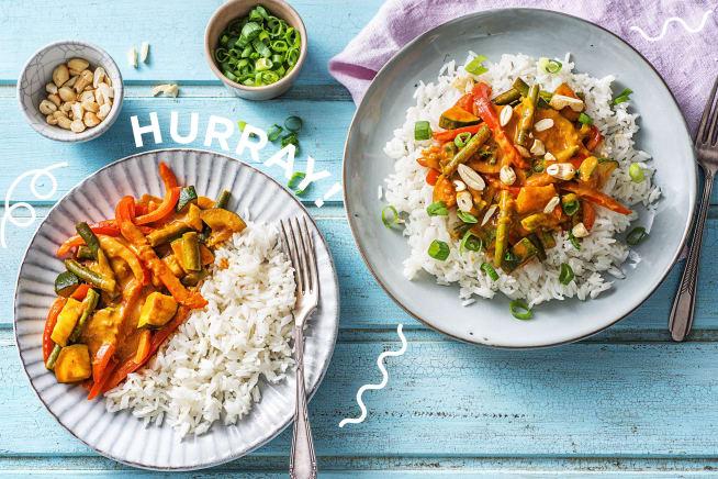 Thermomix Rezepte - Bunt und lecker: Gemüse-Kokos-Curry