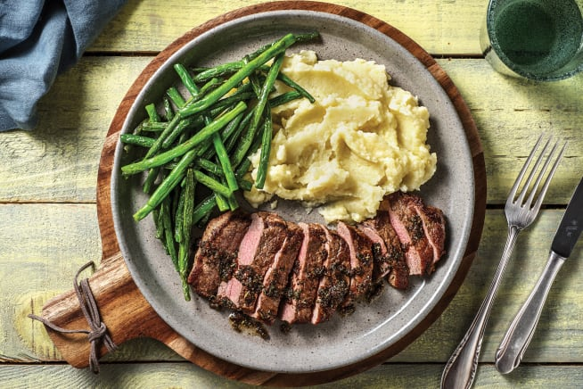 Low Calorie Meals - Rosemary Garlic Steak