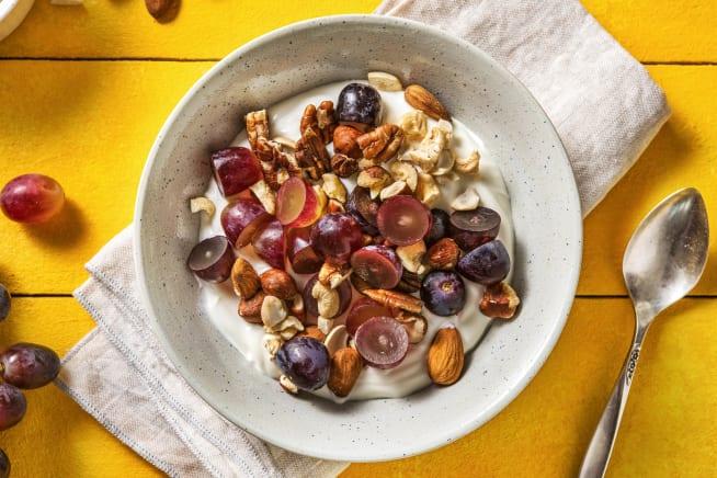 Recettes rapides - Yaourt bulgare aux raisins