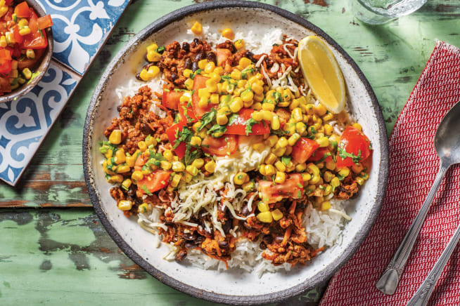 Quick Dinner Ideas - Mexican Beef & Black Bean Chilli