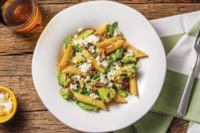 Quick Dinner Ideas - Bacon, Lemon & Pesto Penne