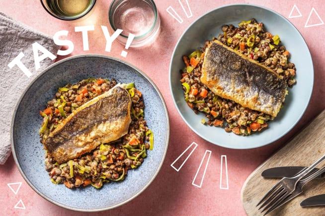 Schnelle Gerichte - Gebratener Seehecht