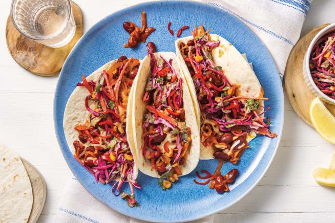 Quick Meals - American BBQ Bean Tacos